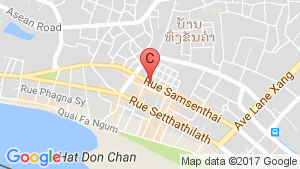 3 villas in laos location map
