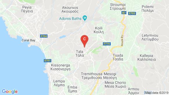 Kamares Village location map